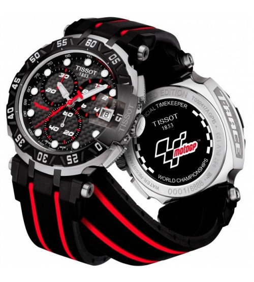 montre tissot motogp 2015 quartz chronograph t0924172720100 montres et plus. Black Bedroom Furniture Sets. Home Design Ideas
