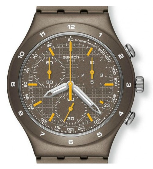 Montre Swatch Irony Chrono Sand Coat YCT4000AG