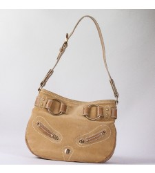 Sac besace Lancel plate biscuit french flirt A02342