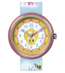 Montre Flik Flak Tweety & Friends Hand bag FLN045