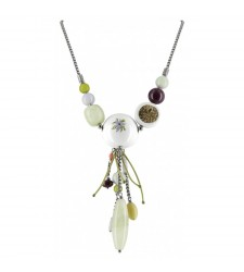 Collier petit plastron Jardin Secret 15--20072
