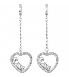 BOUCLES D'OREILLES GUESS COLLECTION LOVE AFFAIR UBE83129
