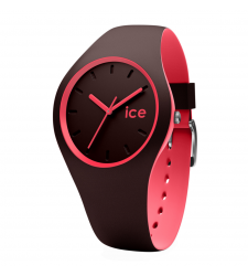 Montre ICE-WATCH ICE DUO Chocolat Coral taille M