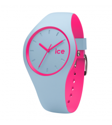 Montre ICE-WATCH ICE DUO BLUE PINK taille M