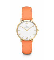 MONTRE KAPTEN & SON JOY PEACH VELVET LEATHER