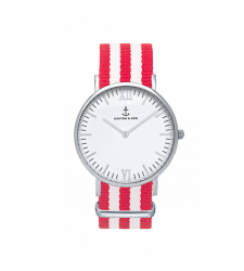 MONTRE KAPTEN & SON CAMPUS SILVER CHERRY