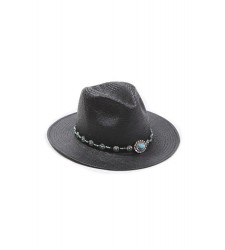 Chapeau ELISA BLACK de la collection HAMENAPIH d'HIPANEMA E16ELISBLK