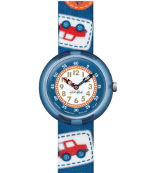 Montre enfant FLIK-FLAK CAMPING BADGE BLUE FBNP094