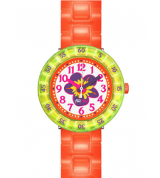 Montre enfant FLIK-FLAK CHEWY ORANGE FCSP030