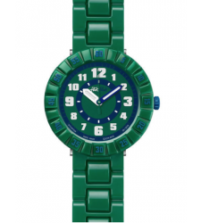 Montre enfant FLIK-FLAK SERIOUSLY GREEN FCSP039