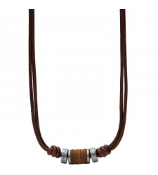 Collier Homme FOSSIL Vintage Casual JF00899797