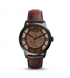 Townsman automatique en cuir marron