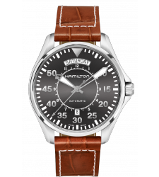 Montre Hamilton Khaki Aviation Pilot Day Date Auto H64615585