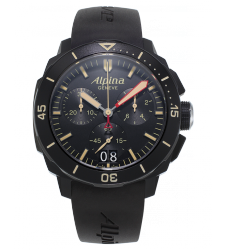 Montre homme ALPINA SEASTRONG DIVER 300 BIG DATE CHRONOGRAPH AL-372LBBG4FBV6