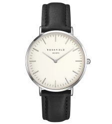 Montre ROSEFIELD The Bowery Argentée BWBLS-B2