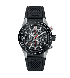Montre TAG Heuer CARRERA calibre Heuer 01 chronographe automatique CAR201V.FT6046