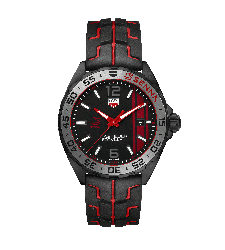 Montre TAG heuer Formula 1 EDITION SPECIALE AYRTON SENNA Quartz 43mm WAZ1014.FT8027