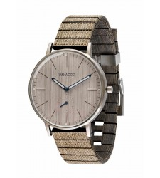 Montre WeWOOD Albacore Silver white Pear