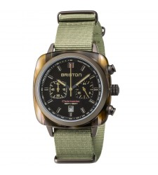 Montre Briston Clubmaster Sport Chronographe jungle 18142.PKAM.TJS.19.NJ