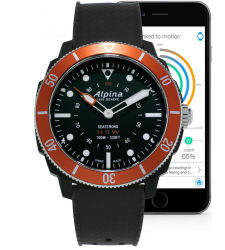 Montre homme ALPINA SEASTRONG HOROLOGICAL SMARWATCH AL-282LBO4V6