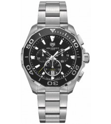 Montre Tag Heuer Aquaracer Quartz Chronographe 300M 43 mm CAY111A.BA0927
