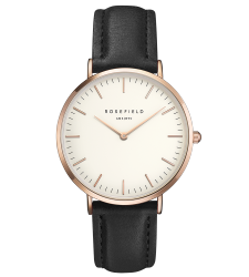 Montre ROSEFIELD The Bowery Dorée rose BWBLR-B1