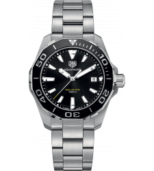 Montre TAG Heuer Aquaracer Homme Quartz 300M Lunette Aluminium 41mm WAY111A.BA0928