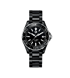 Montre Tag Heuer Aquaracer Lady Céramique Quartz 300M 35 mm WAY1390.BH0716