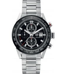 Montre TAG Heuer CARRERA calibre Heuer 01 chronographe automatique CAR201Z.BA0714