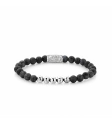 Bracelet REBEL & ROSE SMORE BALLS THAN MOST GREY SEDUCTION RR-60003-S