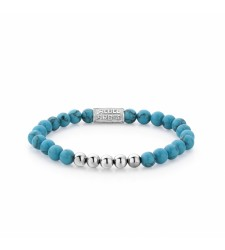 Bracelet REBEL & ROSE SMORE BALLS THAN MOST TURQUOISE DELIGHT RR-60009-S