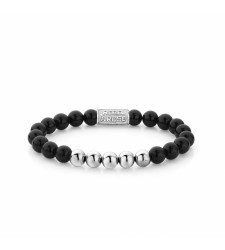 Bracelet REBEL & ROSE SMORE BALLS THAN MOST BLACK PANTHER RR-80001-S