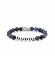 Bracelet REBEL & ROSE SMORE BALLS THAN MOST MIDNIGHT BLUE RR-80004-S