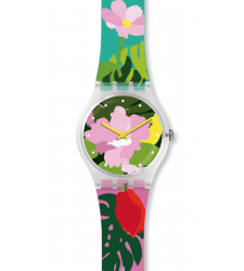 Montre SWATCH TROPICAL GARDEN SUOK132