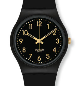 Montre swatch classic collection gent golden...