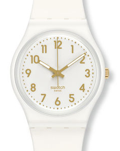 Montre swatch classic collection gent white...