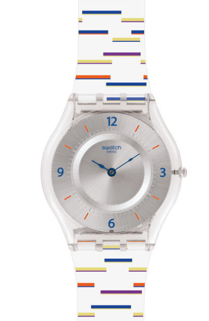 Montre swatch skin classic thin liner sfe108
